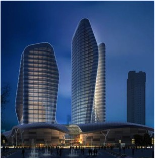 Wuhan Jiayu 'Pebble' Towers